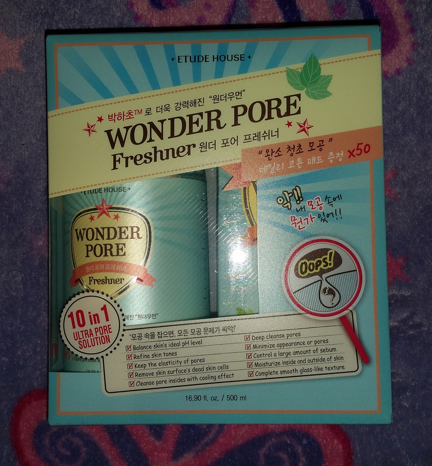 Review Etude House Wonder Pore Freshner The Lovely Deep 500 Ml